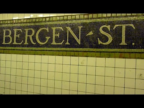 IRT Eastern Parkway Line: Bergen Street (R142 2, 4 and R62 3 trains)