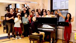 I Love Broadway Rehearsals! // Be More Chill Celebrates Our First Day of Broadway Rehearsals