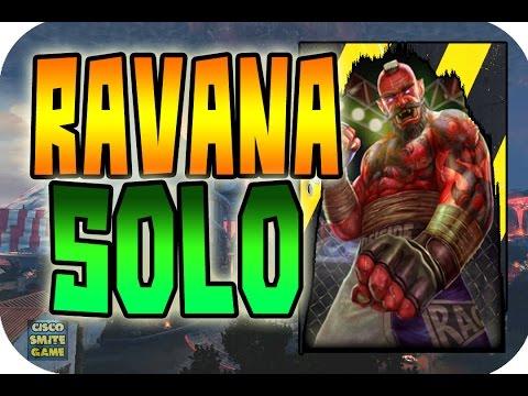 Probando el rework | Ravana Solo | iCiscoSG | Smite en español