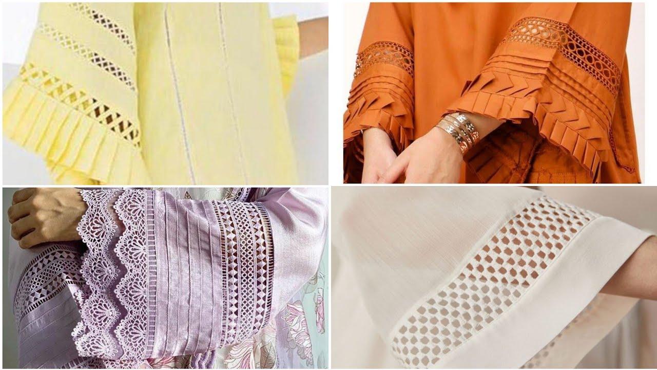 Download Latest Sleeves Design 2020. Kurti Sleeves Designs 2020.Dress designing Ideas.