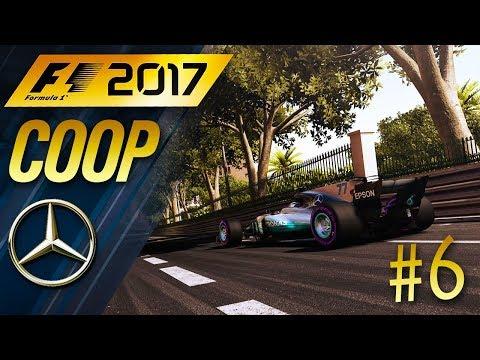 F1 2017 [FR] Carrière Coop #6 - MONACO.