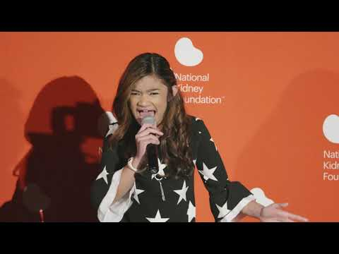 Angelica Hale performs at the Kidney Patient Summit 2019