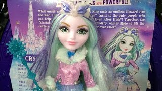 Ever After High Crystal Winter doll review