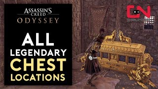 Assassin's Creed Odyssey - All 17 Legendary Chest Locations