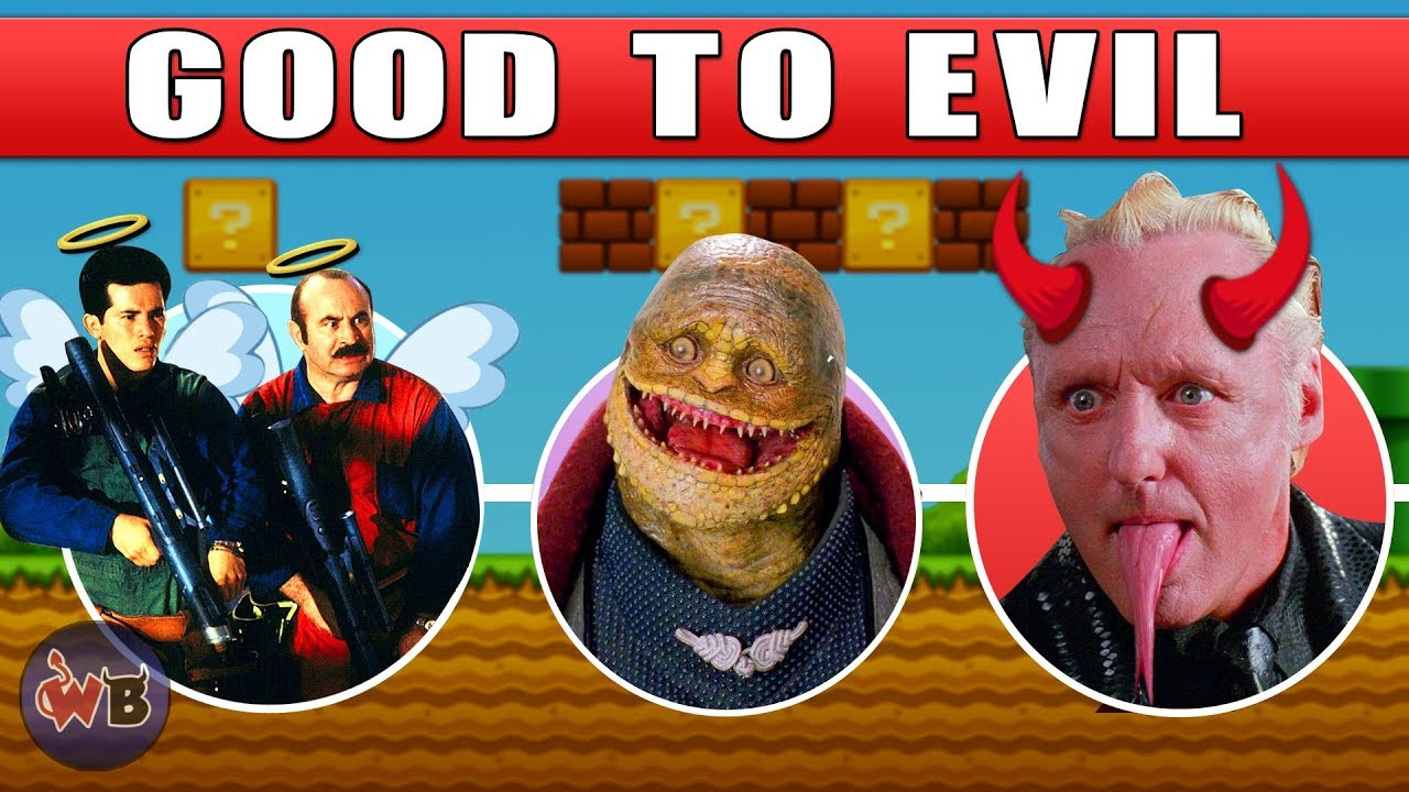 The Super Mario Bros Movie Characters Good To Evil Youtube