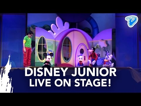 Disney Junior Live on Stage! FULL SHOW Disneyland Paris (Playhouse Disney Live on Stage!)