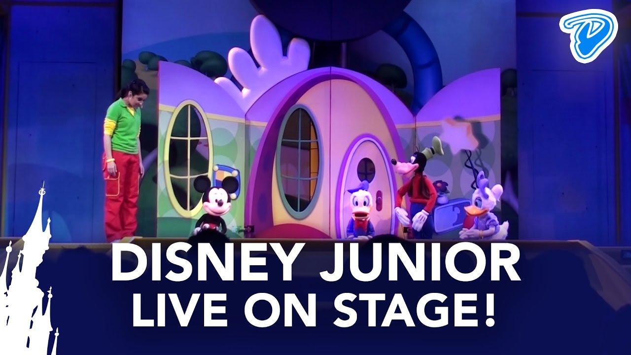Disney Junior Live on Stage! FULL SHOW Disneyland Paris ...