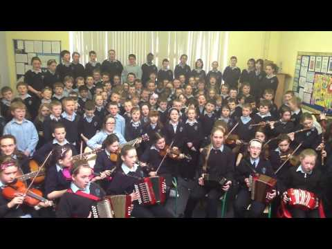 Durrow N.S, County Offaly - Seachtain na Gaeilge: Some night as Gaeilge
