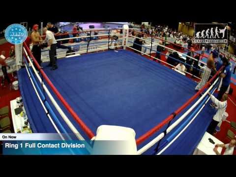 Ring 1 WAKO World Championships 2015, Dublin, 25/11/15