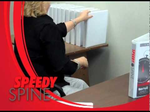 Samsill Speedy Spine Time Saving 3 Ring Binder - Full Video