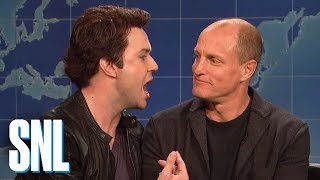 Weekend Update: Matthew McConaughey and Woody Harrelson on True Detective - SNL