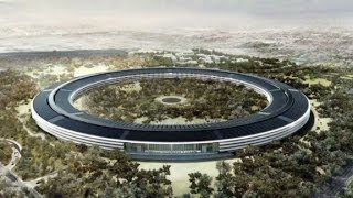 Apple unveils plans for futuristic HQ