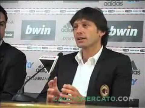 "Leonardo: ""ammiro Balotelli"" - AC Milan's coach Leonardo:""i admire Balotelli"""