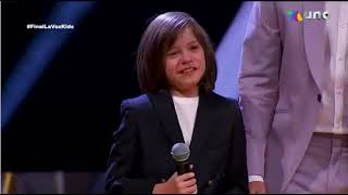 Erick Elian - Aqui estoy yo (Final de La Voz Kids 2021)