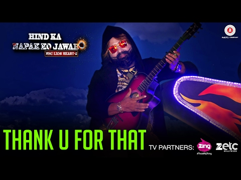 Thank U For That | Saint Dr MSG Insan | Hind Ka Napak Ko Jawab - MSG Lion Heart 2