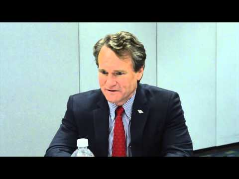 Interview with Bank of America C.E.O. , Brian Moynihan #1