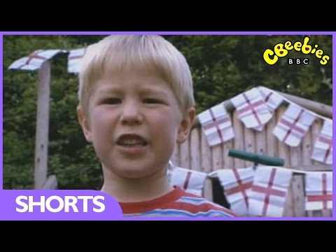 CBeebies: Let's Celebrate - Preparing for St George's Day