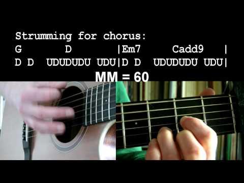 Dance With Me - Shane Harper (guitar lesson)