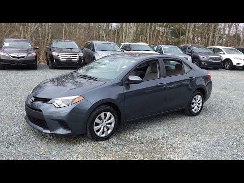 2014 Toyota Corolla Fall River, Dartmouth, New Bedford, Wareham, MA, Tiverton, RI 14521A