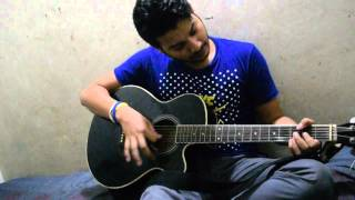 Ekhon ami covered by akash.sky