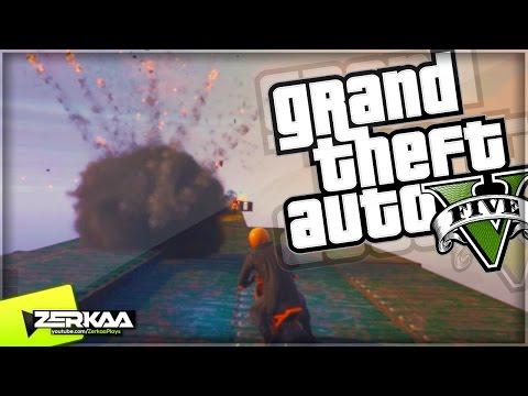 EXPLOSIVE SKY BIKE RACE | GTA 5 Funny Moments | E502 (GTA 5 Xbox One)
