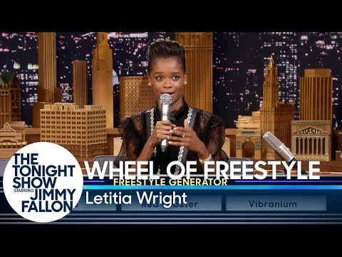Wheel of Freestyle with Black Panther's Letitia Wright