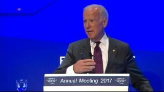 US Vice President Joe Biden Speaks at Forum on Cancer