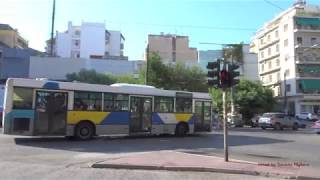 Buses in Athens, Greece 2017 Λεωφορεία στην Αθήνα