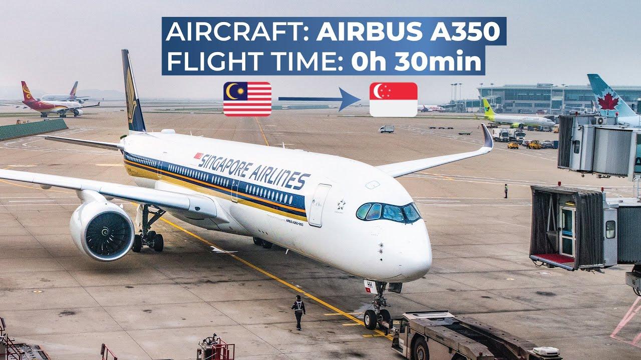 TRIPREPORT | Singapore Airlines (ECONOMY) | Airbus A350-900XWB | Kuala  Lumpur - Singapore
