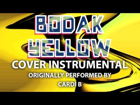Bodak Yellow (Cover Instrumental) [In the Style of Cardi B]