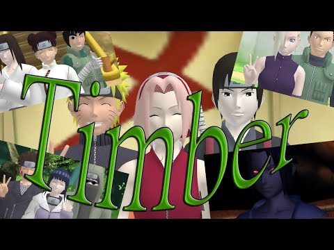 [MMD Naruto] Timber х for Une contorsionniste х (Motion DL).