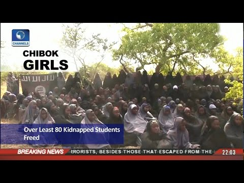 News@10: 80 Chibok Girls Reported To Have Gained Freedom 06/05/17 Pt.1