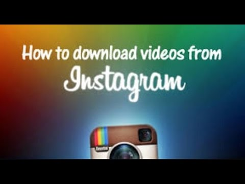 How To: Save INSTAGRAM Videos to Gallery (No Other