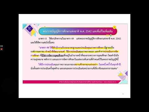 การประกันคุณภาพการศึกษา2564