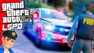 "GTA 5 LSPDFR ""Federal Agent"" FIB Patrol | GTA 5 Realistic Police Mod"