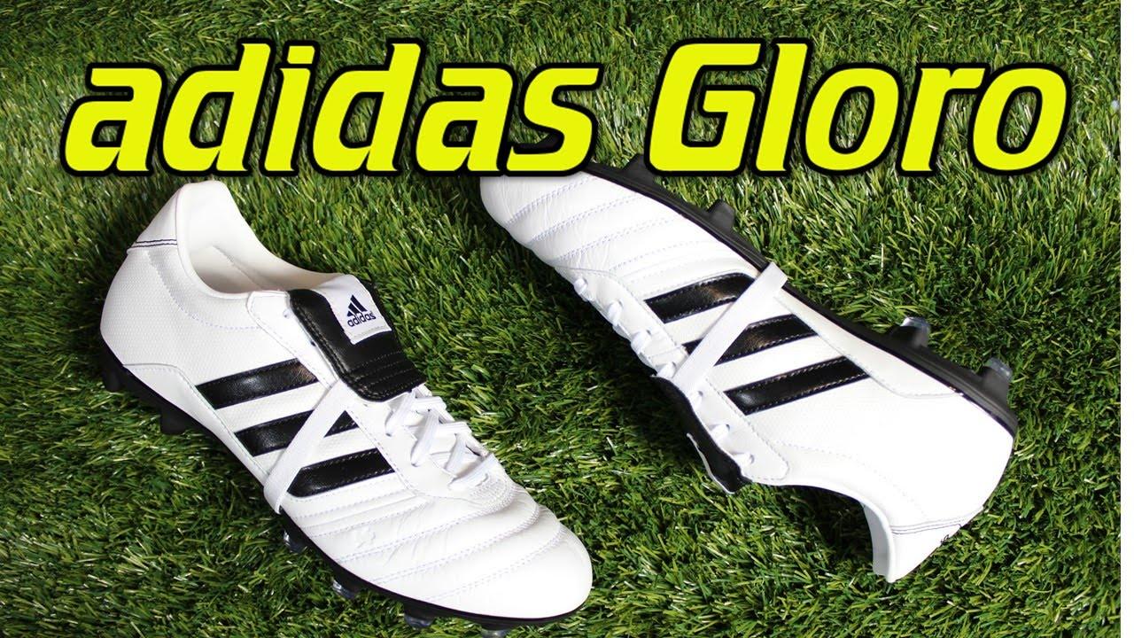 online retailer 9d921 96cbc Adidas Gloro WhiteBlack - Review + On Feet - YouTube