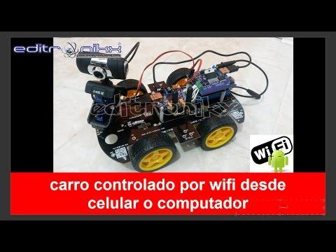 carro controlado por WIFI desde celular o computador(armalo tu mismo)