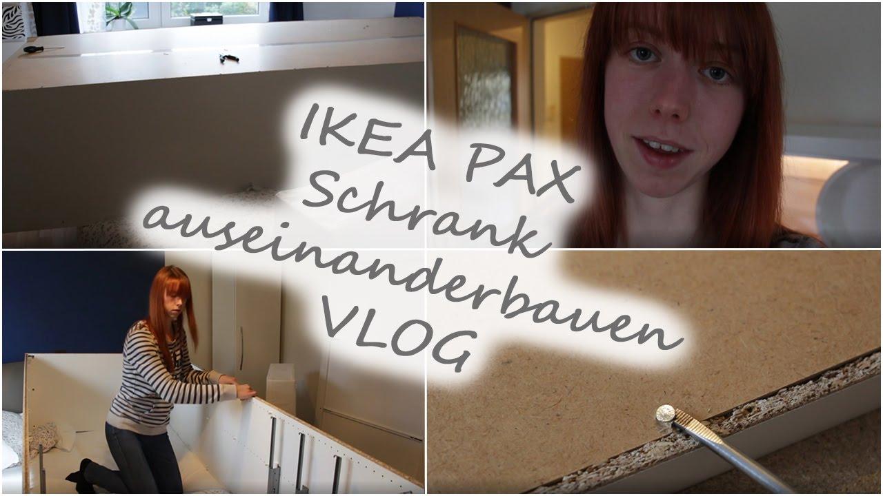 ikea pax auseinanderbauen 6 unser hauskauf youtube. Black Bedroom Furniture Sets. Home Design Ideas