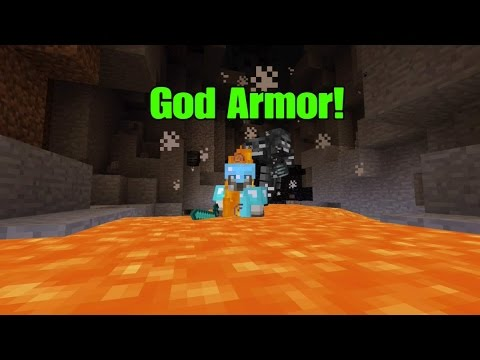 how to make god armor in minecraft