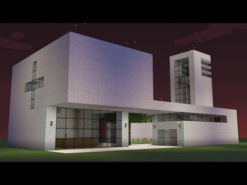 Minecraft - How to build a modern church