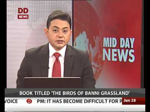 PM releases a book on birds of Banni Grassland