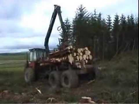 Kockums 84 35 forwarder youtube for Floor action definition