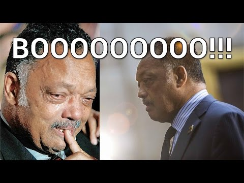 Al Sharpton and Jesse Jackson Booed Off Stage in Ferguson Missouri