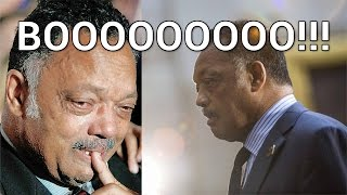 Al Sharpton and Jesse Jackson Booed Off Stage in Ferguson Missouri thumbnail