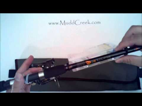 R2F Telescoping Spinning Rod & Reel Portable Fishing Kit Review By MUDD CREEK