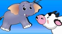 Sons d'animaux pour enfants - Bruit d'animaux