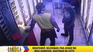 WATCH: Robbers attack Pampanga meat shop