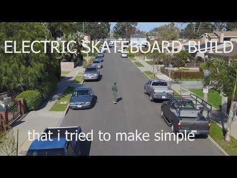 Building an Electric Short Skateboard, VESC + Maytech 70mm hub motors