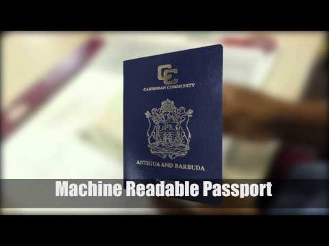 New Machine Readable Passports