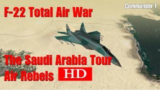 F22 Total Air War TAW Air Rebels 720HD [Episode 31]